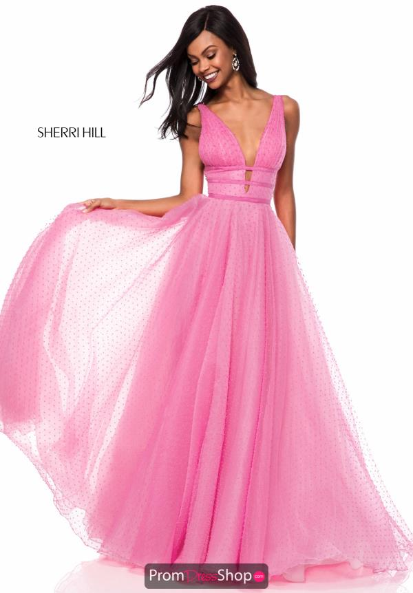 Sherri Hill Long A Line Dress 52058