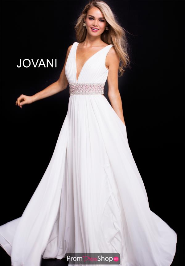 Jovani Long Chiffon Dress 48069