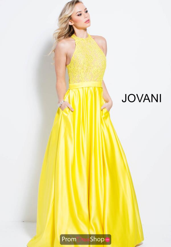 Jovani Beaded A Line Dress 57940