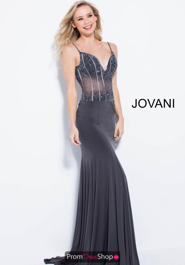 Jovani Beaded Dress 59648