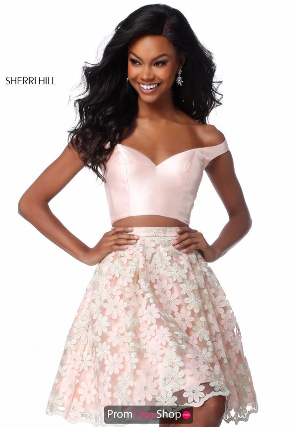 Sherri Hill Short Two Piece Dress S51880