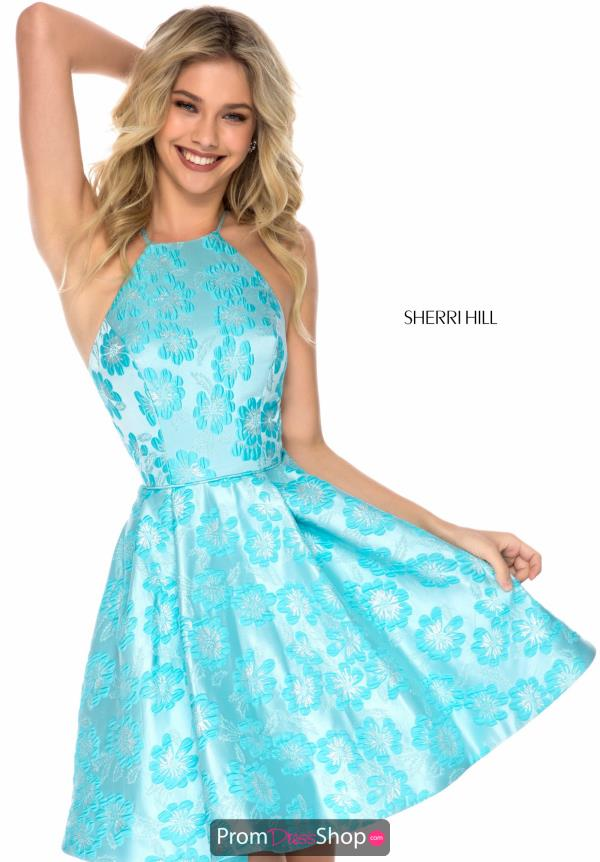 Sherri Hill Short A Line Dress S51991
