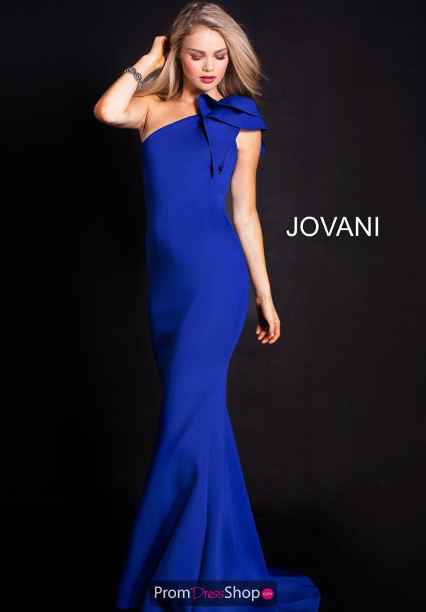 Jovani Fitted Neoprene Dress 32602