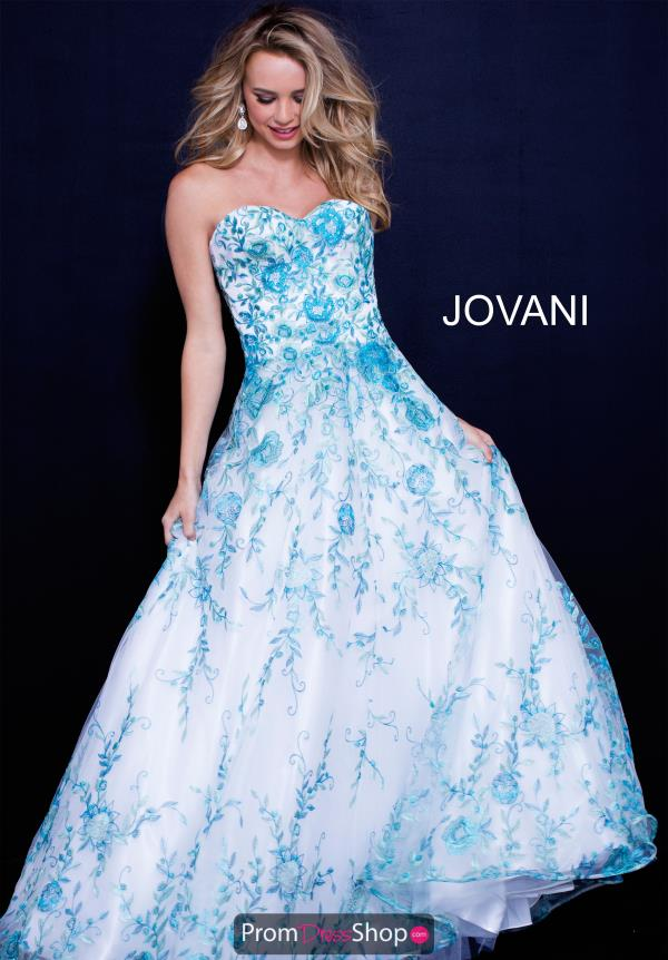 Jovani Organza Sweetheart Dress 49315