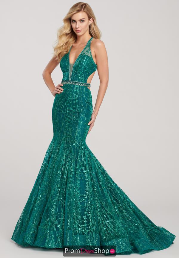 Ellie Wilde Mermaid Open Back Dress EW119067