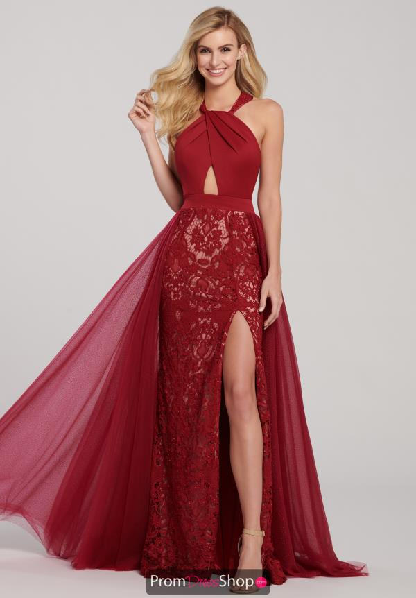 Ellie Wilde Lace Fitted Dress EW119069