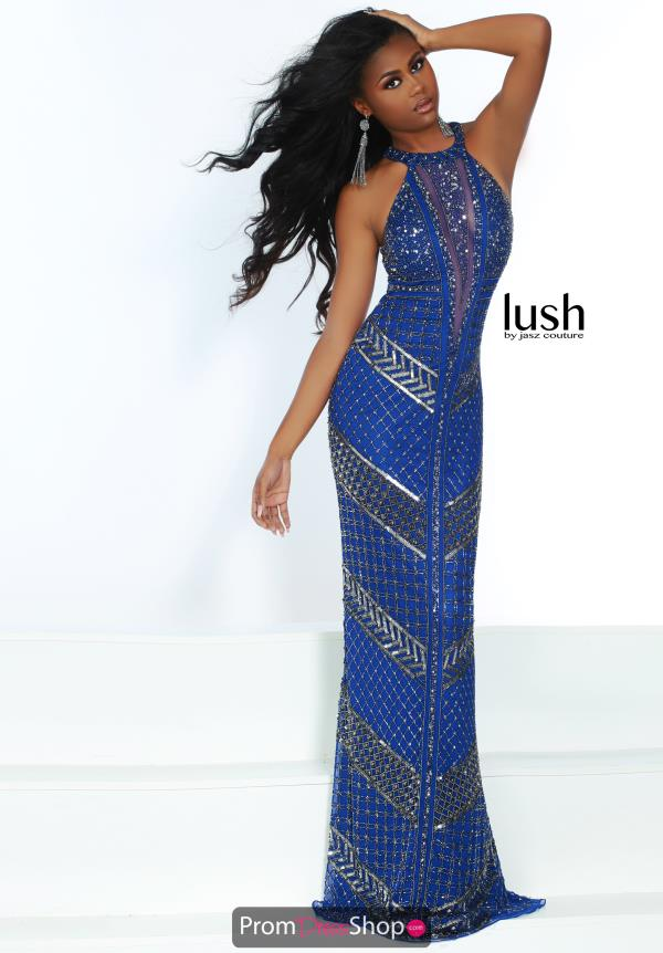 Jasz Couture Bold Embellished Dress 1574