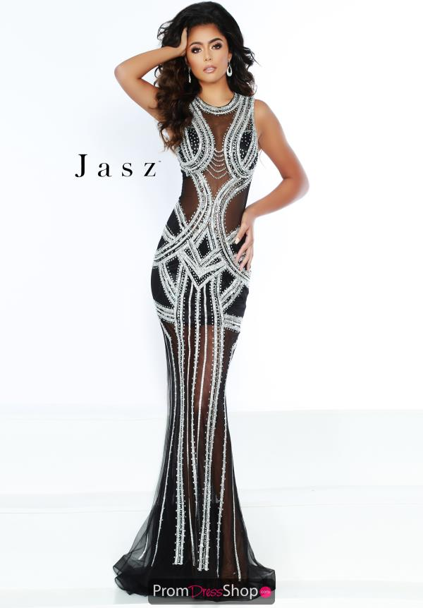 Jasz Couture Opulent Fitted Dres 6400