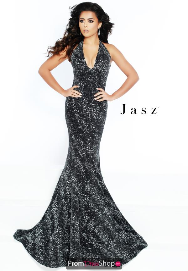 Jasz Couture Glitter Marmaid Dress 6428