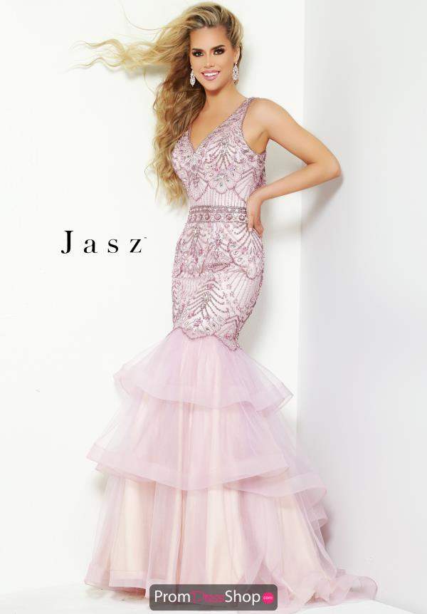 Jasz Couture Beaded Mermaid Dress 6443