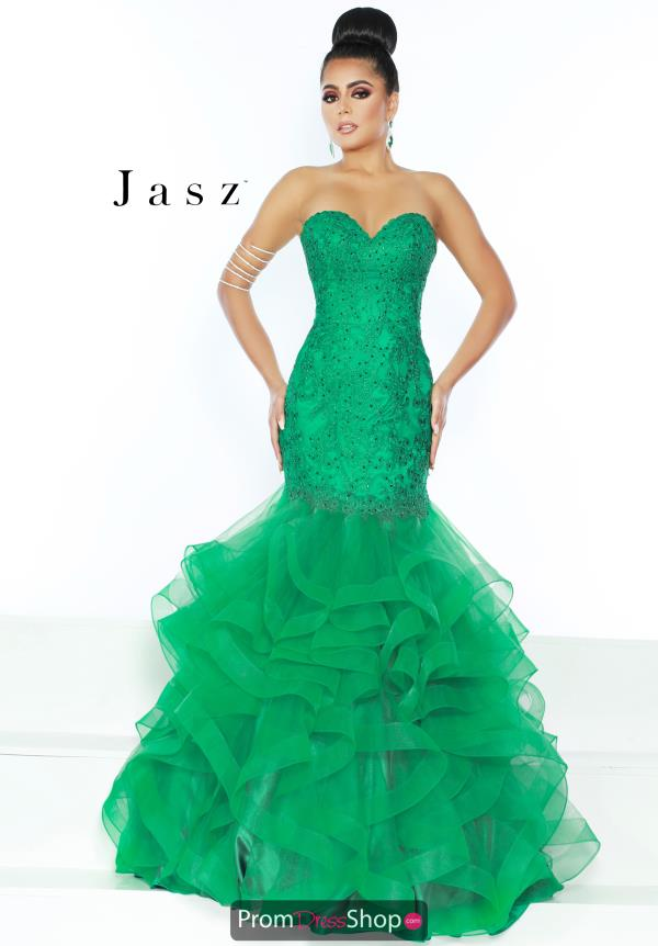 Jasz Couture Strapless Mermaid Dress 6471