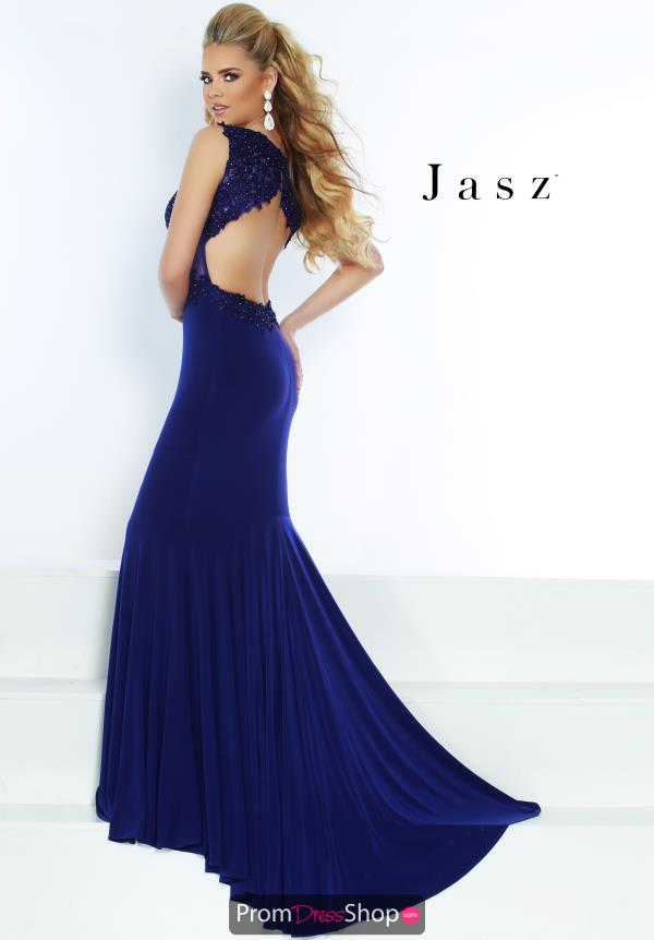 Jasz Couture Fitted Jersey Dress 6474