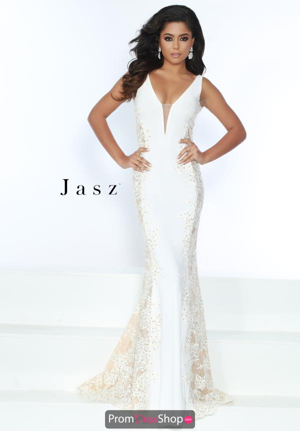 Jasz Couture Fitted Jersey dress 6475