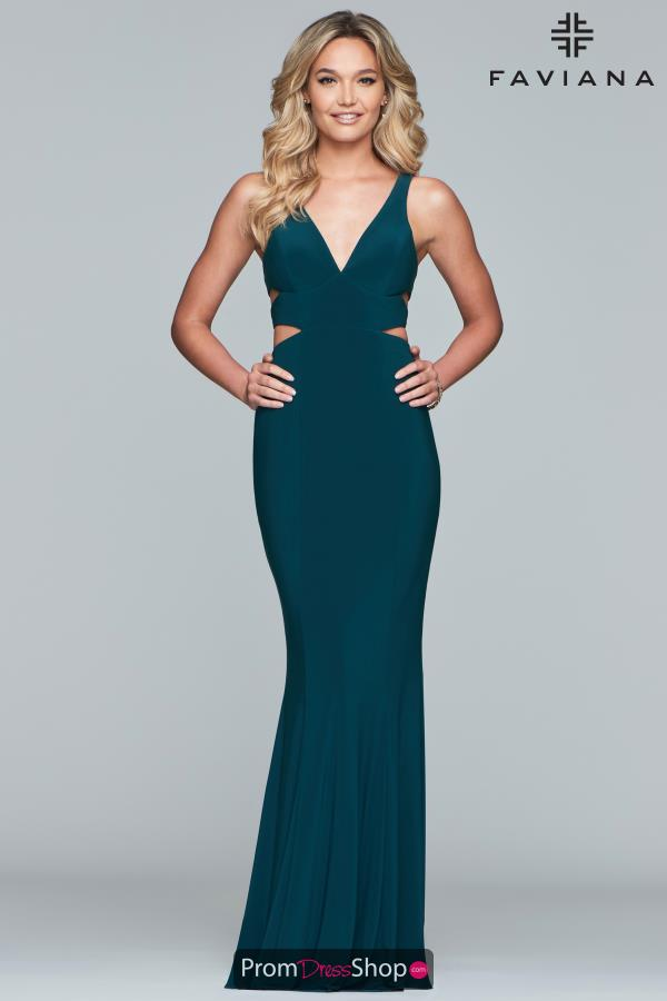 Sexy Cut Outs Faviana 7541 Dress