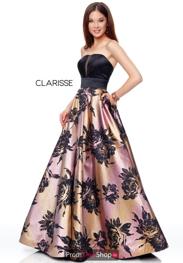 Clarisse Strapless Full Figured Dress 3718