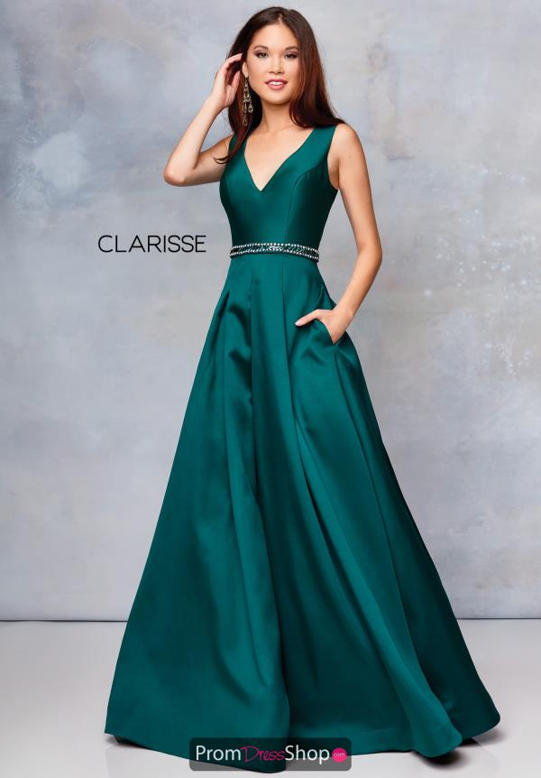 Clarisse Beaded Mikado Dress 3742