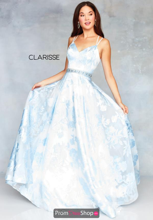 Clarisse Full Figured Long Dress 3704