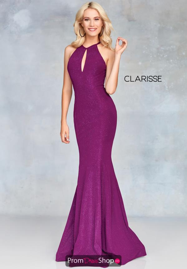 Clarisse Open Back Fitted Dress 3726