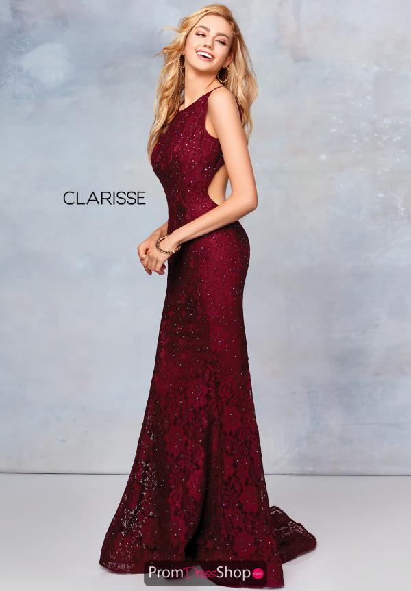 Clarisse Fitted Beaded Dress 3748