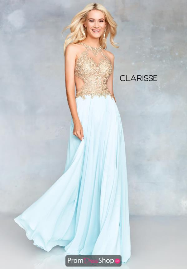 Clarisse Beaded A Line Dress 3759