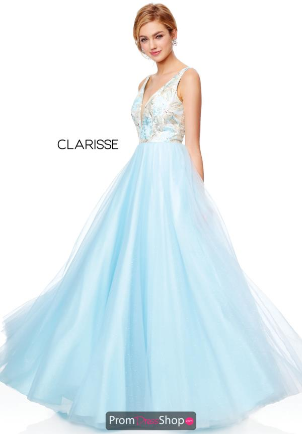 Clarisse Full Figured Long Dress 3768