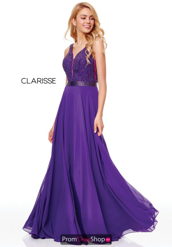 Clarisse V-Neck Beaded Dress 3779