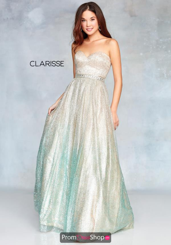 Clarisse Sweetheart Full Figured Dress 3821