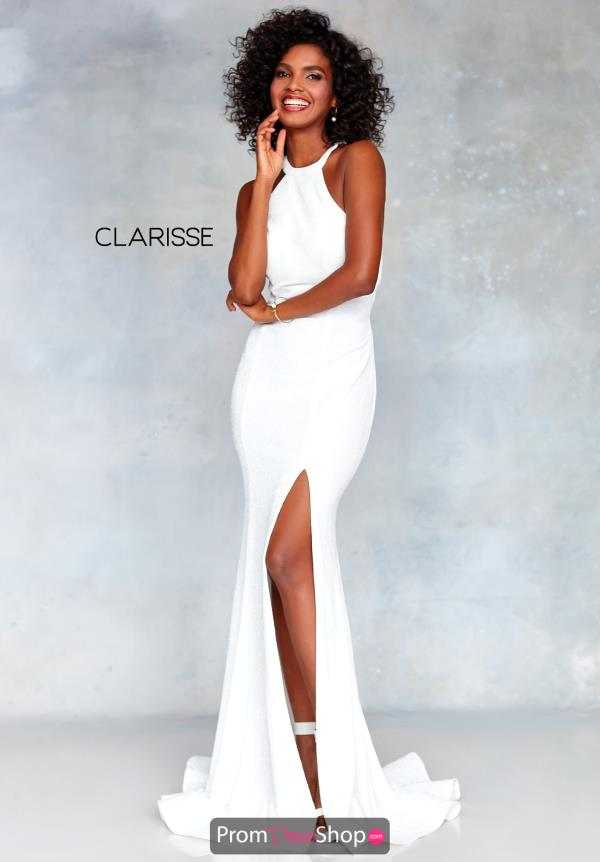 Clarisse Open Back Long Dress 3830