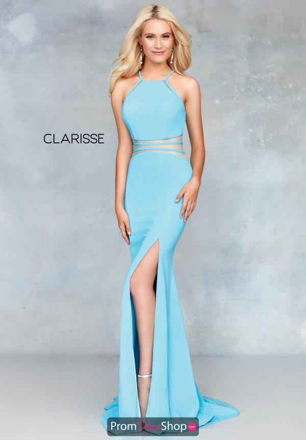Clarisse Fitted Long Dress 3832