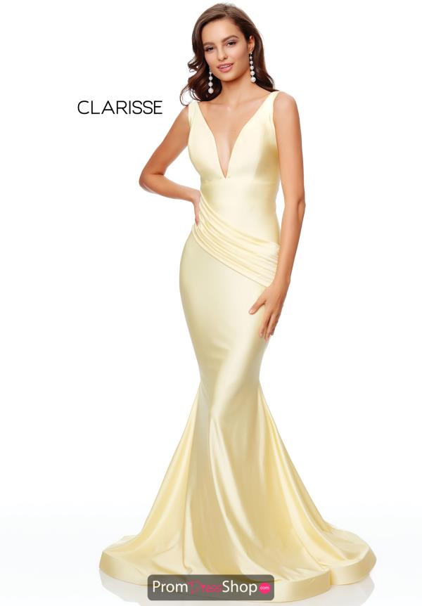 Clarisse Fitted Long Dress 3844