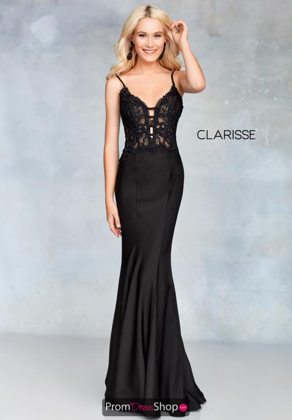 Clarisse Lace Beaded Dress 5003