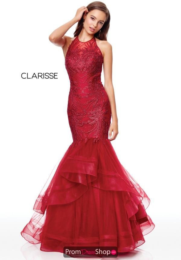 Clarisse Beaded Mermaid Dress 5016