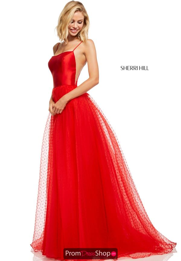 Sherri Hill Long A Line Dress 52639