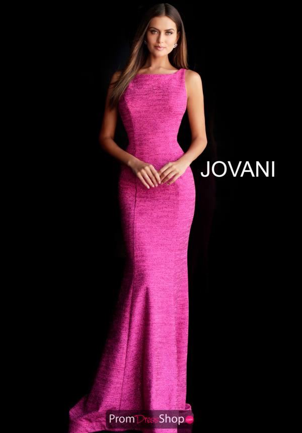 Jovani Fitted Open Back Dress 45830