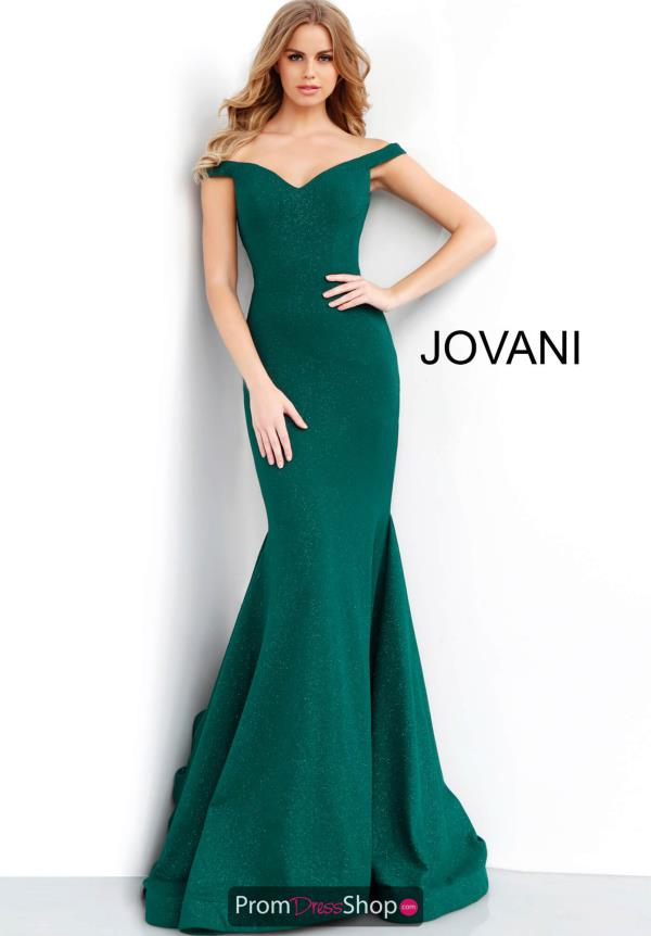 Jovani Full Figured Long Dress 55187