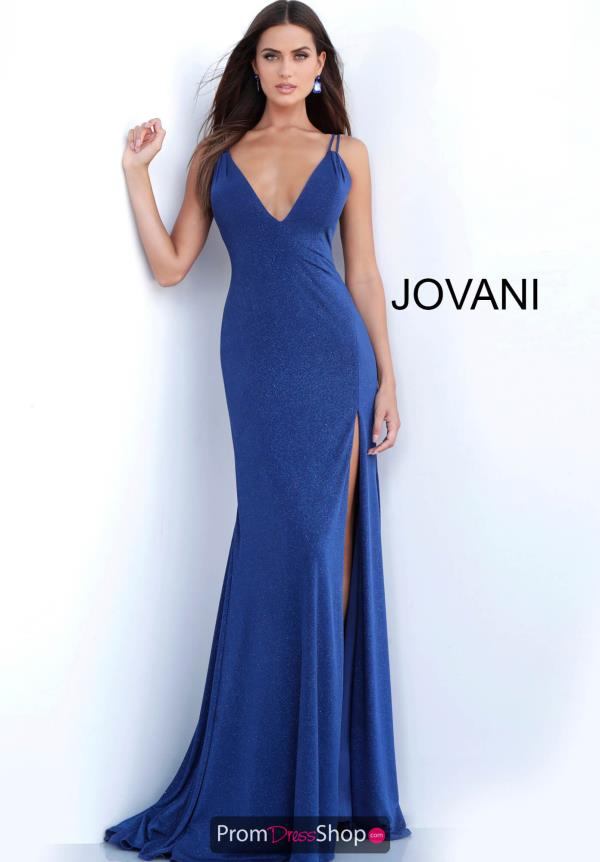 Jovani Fitted Jersey Dress 58557