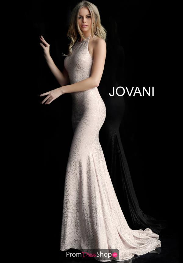 Jovani Fitted Jersey Dress 60137