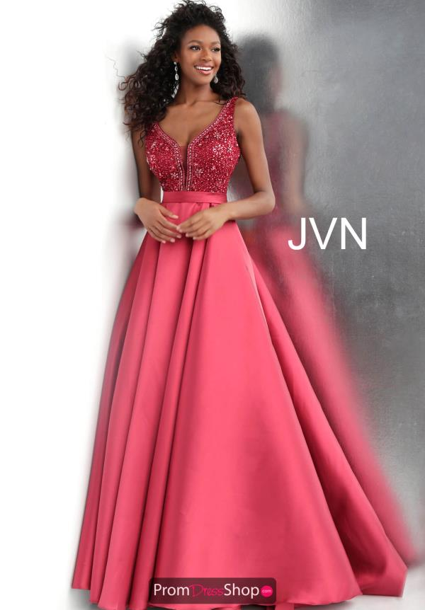 JVN by Jovani Long A Line Dress JVN67198