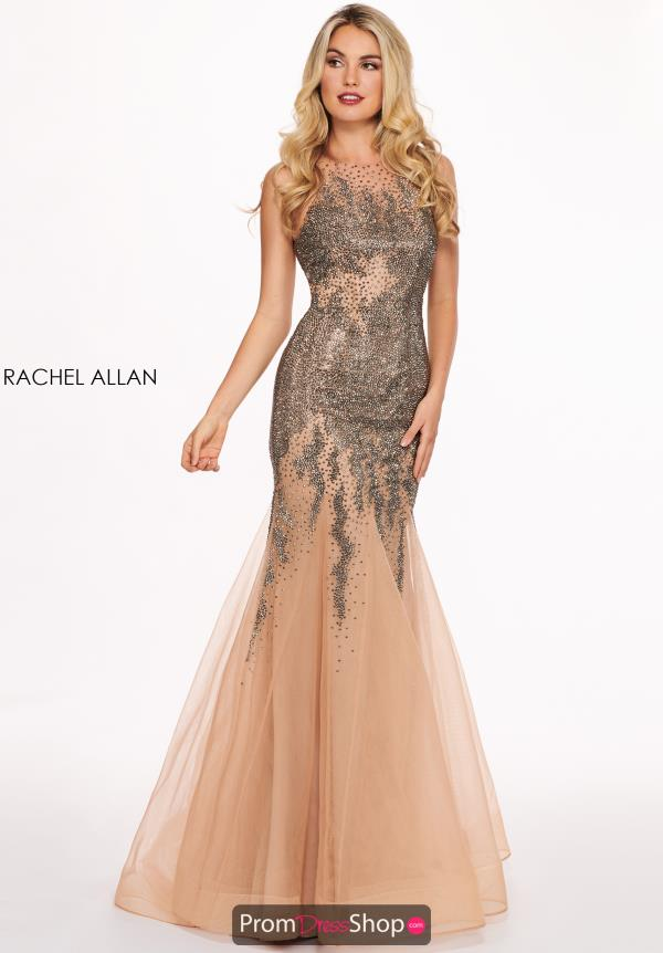 Raches Allan Beaded Mermaid Gown 6452
