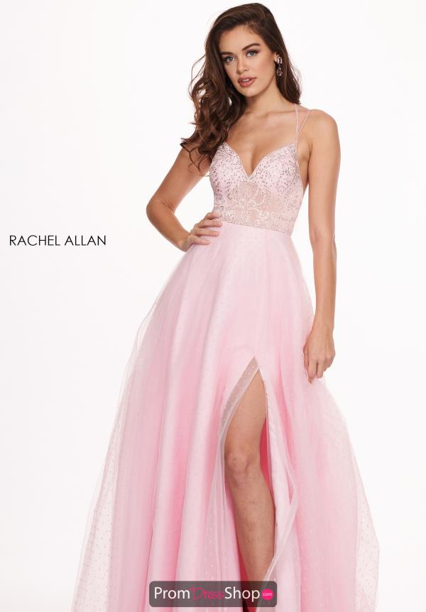 Rachel Allan Beaded Tulle Dress 6493
