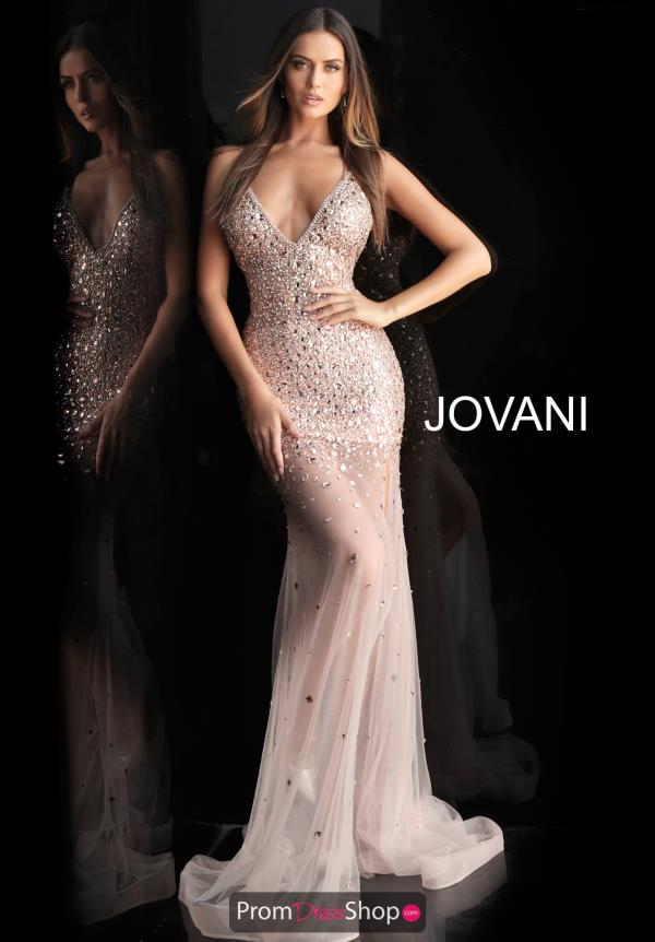 Jovani Fitted Beaded Dress 57300