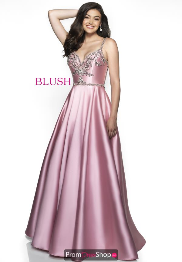 Blush Long A Line Dress C2020