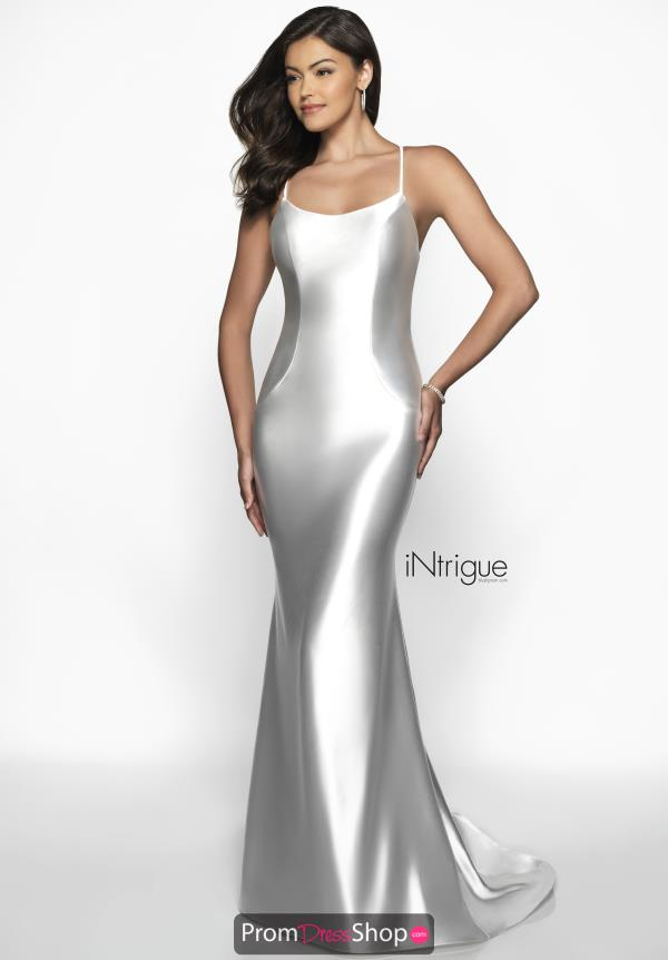 Intrigue by Blush Jersey Satin Dress 544