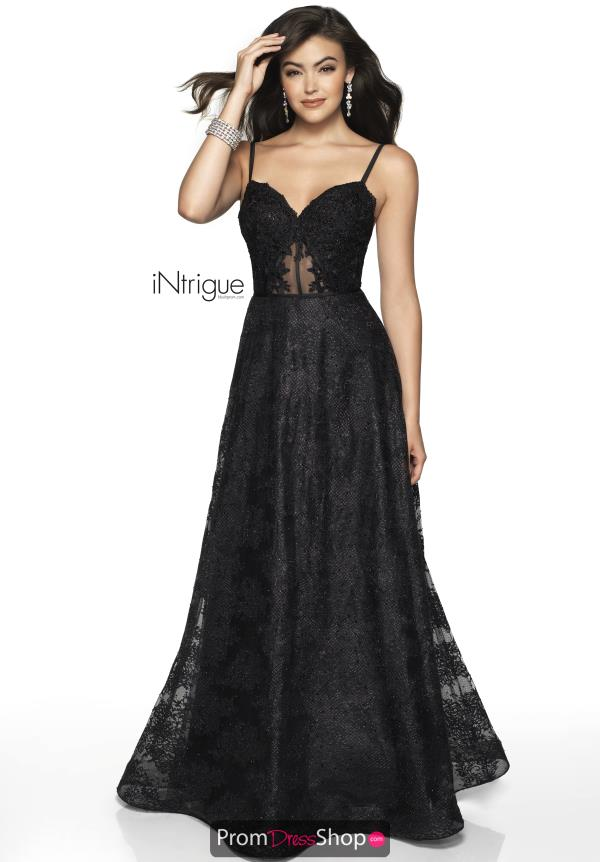 Intrigue by Blush Lace A Line Dress 568