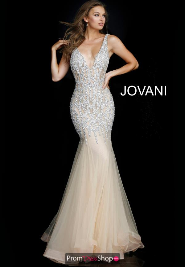 Jovani Embellished Mermaid Gown 59717