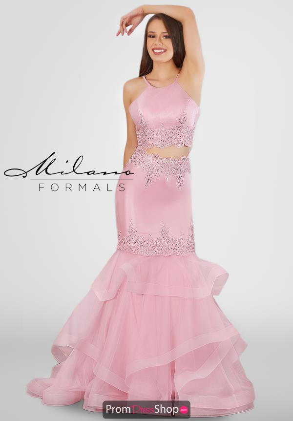Milano Formals Two Piece Fitted Dress E2756