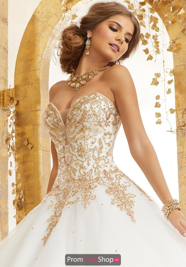 Vizcaya Quinceanera Sweetheart Neckline Ball Gown 60074