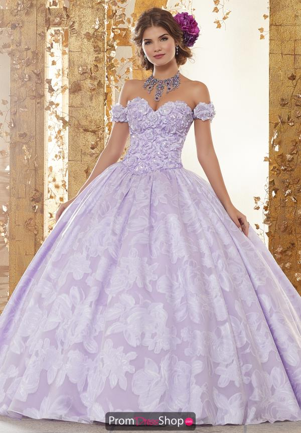 Vizcaya Quinceanera Off the Shoulder Ball Gown 89232