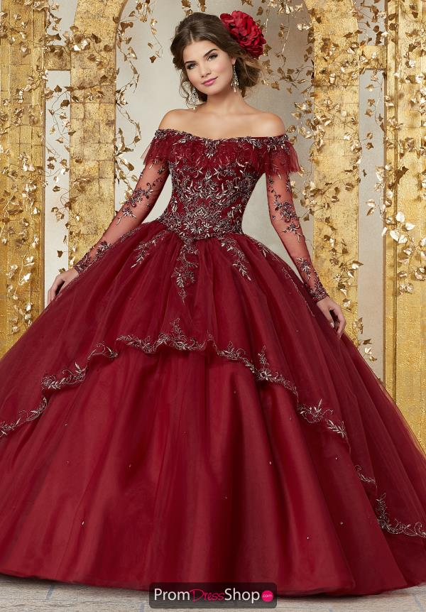 Vizcaya Quinceanera Tulle Skirt Ball Gown 89235
