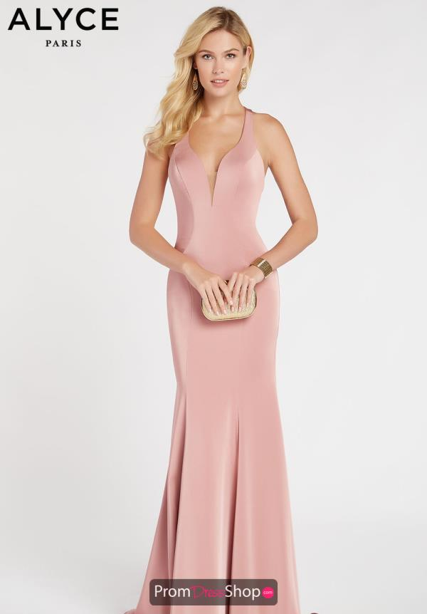Alyce Paris V-Neck Long Dress 60281